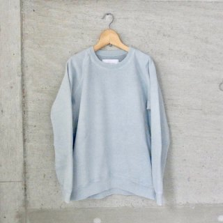 CURLY | FROSTED CREW SWEAT(LT.BLUE)