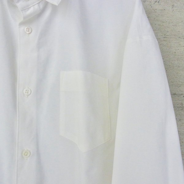 DIGAWEL | DROP-SHOULDER SHIRT(WHITE)
