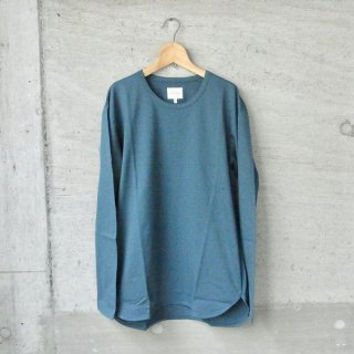 CURLY | SDH LS CN TEE(INK GREEN)