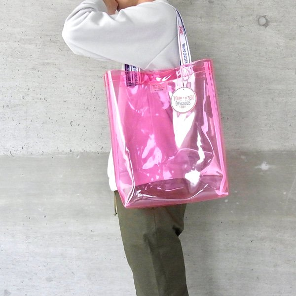 YOUNG & OLSEN The DRYGOODS STORE | Y&O PP CLEAR BAG(PINK)