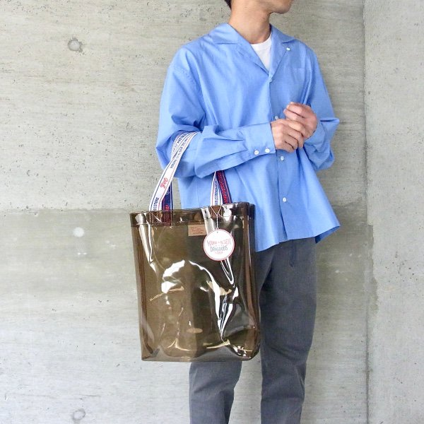 YOUNG & OLSEN The DRYGOODS STORE | Y&O PP CLEAR BAG(AMBER)