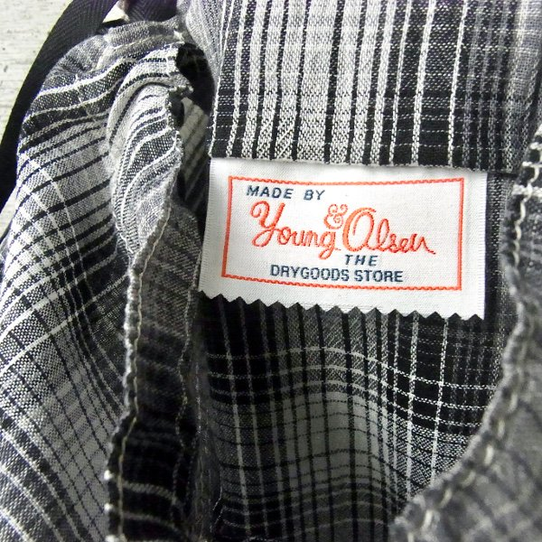 YOUNG & OLSEN The DRYGOODS STORE | OLD AMERICAN POCKET(BLACK CHECK)