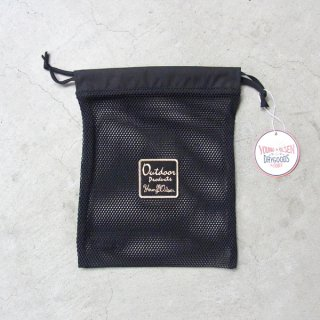 YOUNG & OLSEN The DRYGOODS STORE | OUTDOOR MESH POUCH(BLACK)