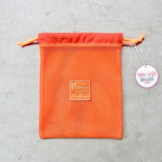 YOUNG & OLSEN The DRYGOODS STORE | OUTDOOR MESH POUCH(ORANGE)