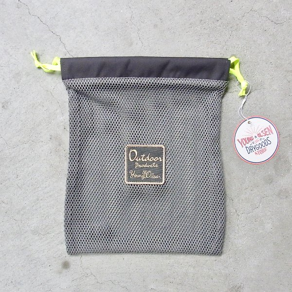 YOUNG & OLSEN The DRYGOODS STORE   OUTDOOR MESH POUCH(GREY)