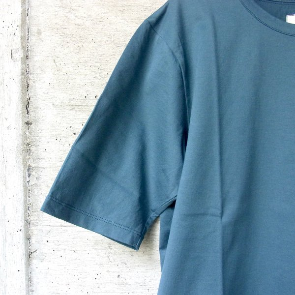 CURLY | SDH HS CN TEE(INK GREEN)