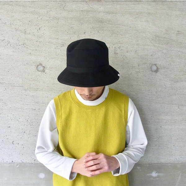 【30%OFFセール】CURLY | NOMADIC HAT(BLACK)