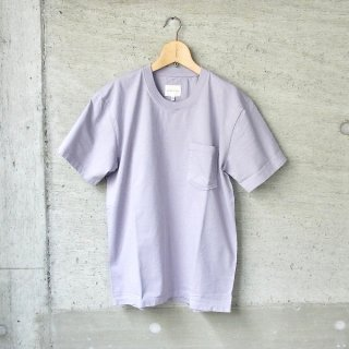 CURLY | HELICAL POCKET SS TEE(LAVENDER)