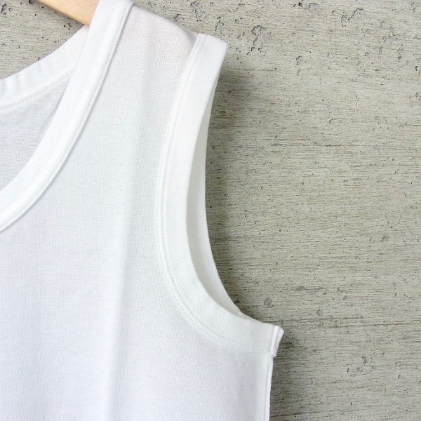 CURLY | AZTEC TANK(WHITE)