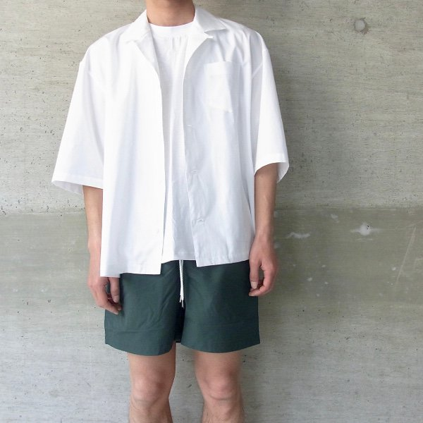 DIGAWEL | BAGGY SHORTS(D.GREEN)