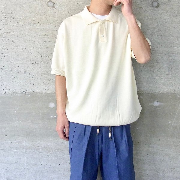 【30%OFFセール】Ordinary fits | POLO KNIT(ECR)
