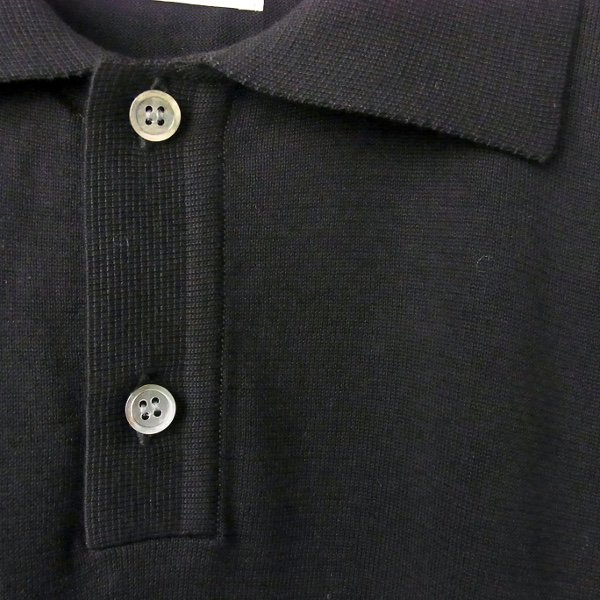 Ordinary fits | POLO KNIT(BLK)