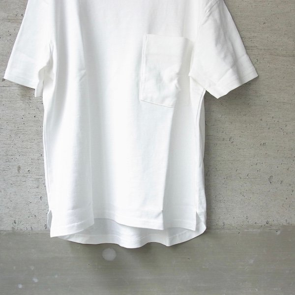 【30%OFFセール】CURLY | AZTEC CN POCKET TEE(WHITE)
