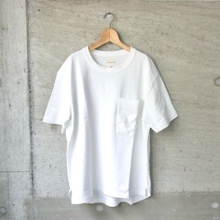 CURLY | AZTEC CN POCKET TEE(WHITE)