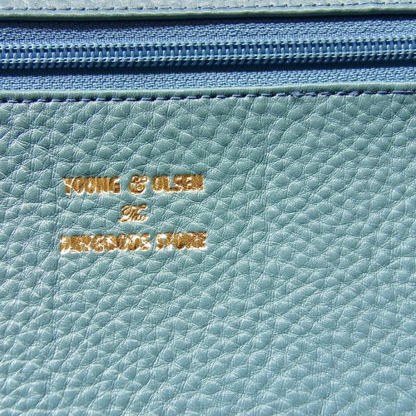 YOUNG & OLSEN The DRYGOODS STORE   Y&O LEATHER POUCH M(HYDRO)