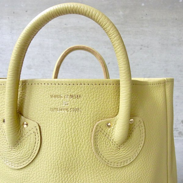 YOUNG & OLSEN The DRYGOODS STORE | EMBOSSED LEATHER TOTE M(ANTIQUE GOLD)