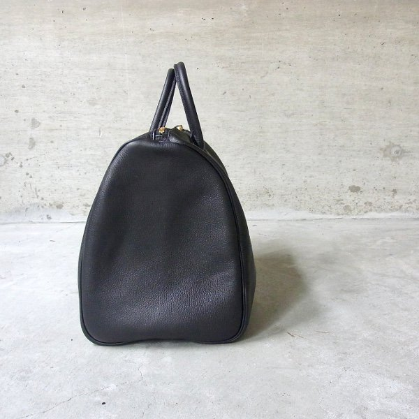 YOUNG & OLSEN The DRYGOODS STORE | EMBOSSED LEATHER BOSTON M(BLACK)
