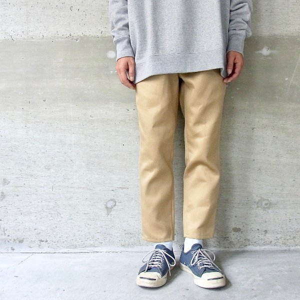 DIGAWEL | TAPERED PANTS(CAMEL)