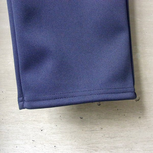 CURLY   TRACK TROUSERS(NAVY)