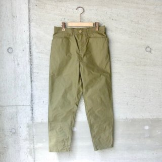 DIGAWEL | SLIM ANKLE PANTS(OLIVE)