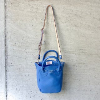 YOUNG & OLSEN The DRYGOODS STORE | PETITE LEATHER TOTE(BLUE JEAN)