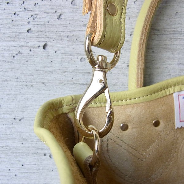 YOUNG & OLSEN The DRYGOODS STORE | PETITE LEATHER TOTE(ANTIQUE GOLD)