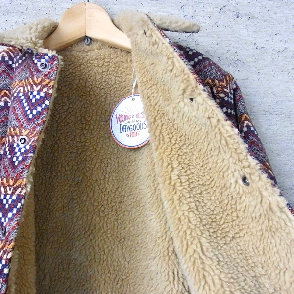 YOUNG & OLSEN The DRYGOODS STORE | WINTER WESTERN JACKET(NATIVE)