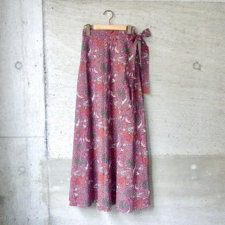 【40%OFFセール】YOUNG & OLSEN The DRYGOODS STORE | INDIAN WRAP SKIRT(PURPLE)