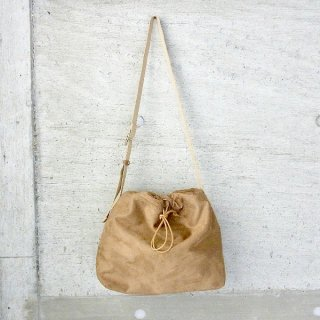 【40%OFFセール】CURLY | CLIFTON DRAWSTRING SHOULDER(BEIGE)
