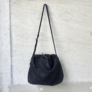 CURLY | CLIFTON DRAWSTRING SHOULDER(BLACK)