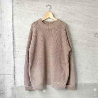 CURLY | AZTEC CN SWEATER(SMOKED BEIGE)