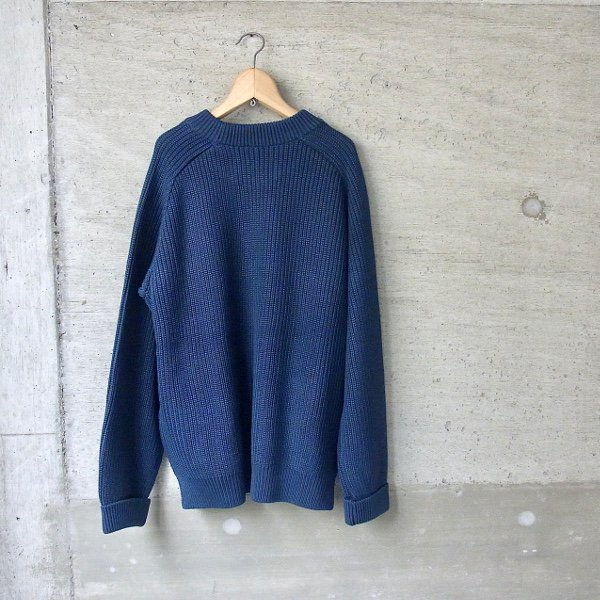 CURLY | AZTEC CN SWEATER(INK BLUE)