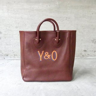 YOUNG & OLSEN The DRYGOODS STORE | PAINTER'S LEATHER TOTE(RAM RAISIN)