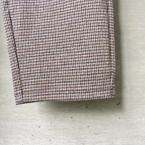 CURLY | ADVANCE TROUSERS(BROWN CHECK)