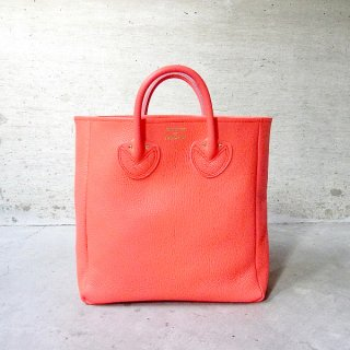 YOUNG & OLSEN The DRYGOODS STORE | EMBOSSED LEATHER TOTE M(FUCHSIA)