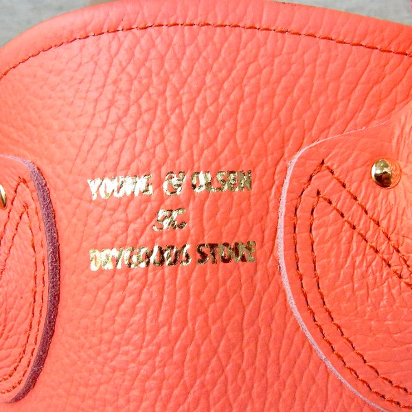 YOUNG & OLSEN The DRYGOODS STORE | PETITE LEATHER TOTE(FUCHSIA)