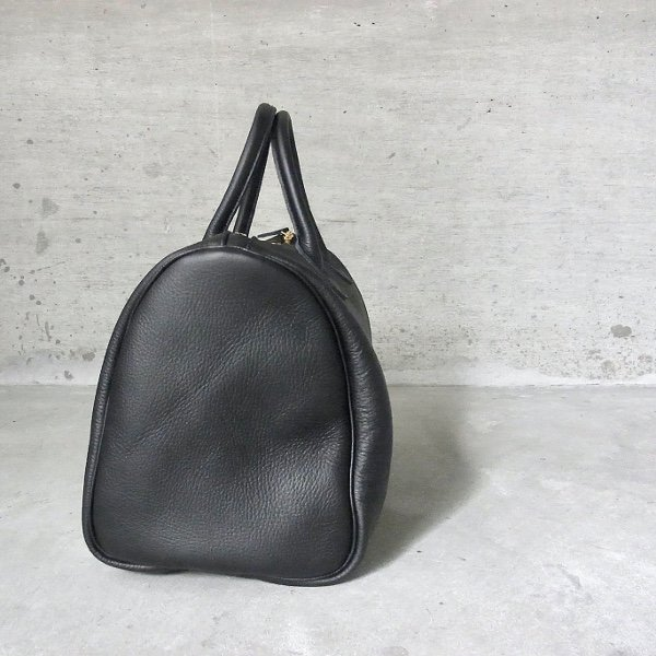 YOUNG & OLSEN The DRYGOODS STORE | EMBOSSED LEATHER BOSTON S(BLACK)