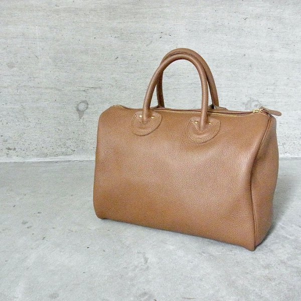 YOUNG & OLSEN The DRYGOODS STORE | EMBOSSED LEATHER BOSTON S(BROWN)