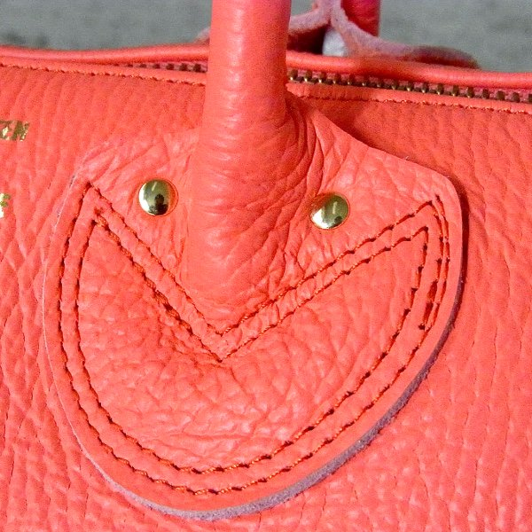 YOUNG & OLSEN The DRYGOODS STORE | EMBOSSED LEATHER BOSTON S(FUCHSIA)