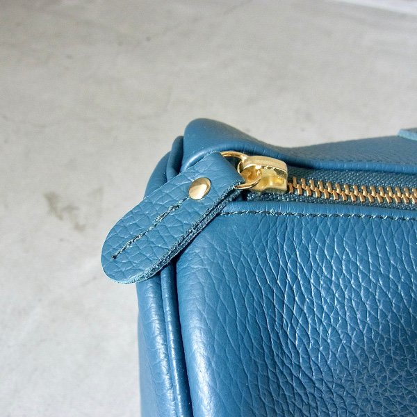 YOUNG & OLSEN The DRYGOODS STORE | EMBOSSED LEATHER BOSTON S(OCEAN)