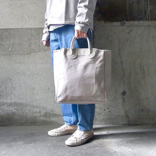 YOUNG & OLSEN The DRYGOODS STORE   CANVAS CARRYALL TOTE M(BEIGE)