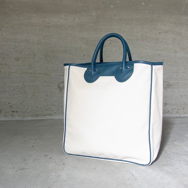 YOUNG & OLSEN The DRYGOODS STORE | CANVAS CARRYALL TOTE M(OCEAN)