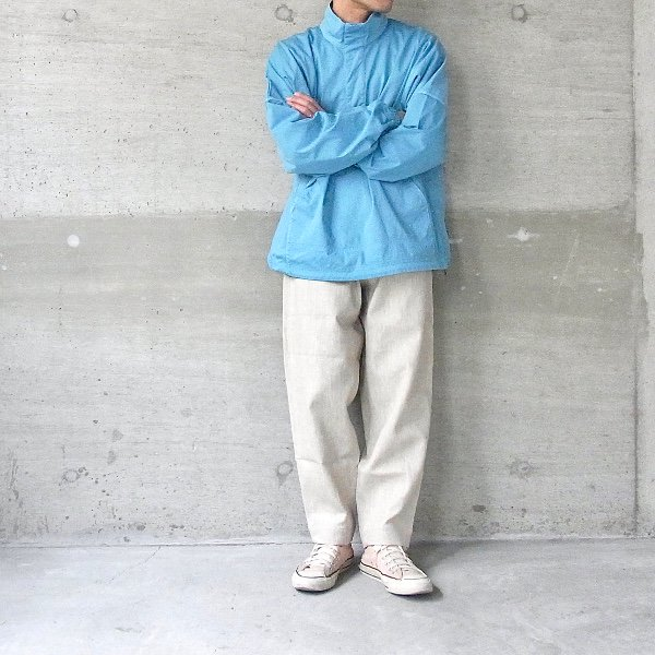 【30%OFFセール】CURLY | FROSTED SC BLOUSON(PORT BLUE)