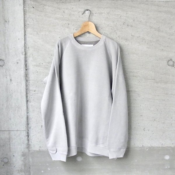 CURLY | FROSTED CREW SWEAT(LT.GRAY)