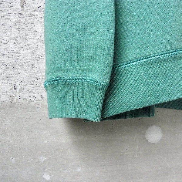 CURLY | FROSTED CREW SWEAT(GREEN)
