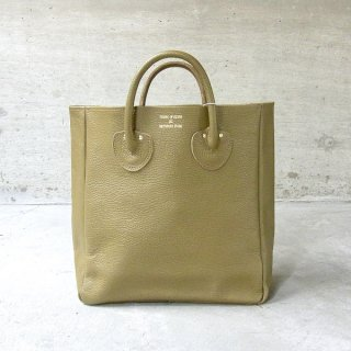 YOUNG & OLSEN The DRYGOODS STORE | EMBOSSED LEATHER TOTE M(COYOTE)