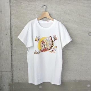 YOUNG & OLSEN The DRYGOODS STORE | AMERICAN PRINTED TEE(NATIVE)