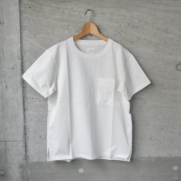 【30%OFFセール】CURLY | AZTEC S/S POCKET TEE(WHITE)