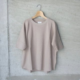 CURLY | CLOUDY H/S TEE(GREGE)