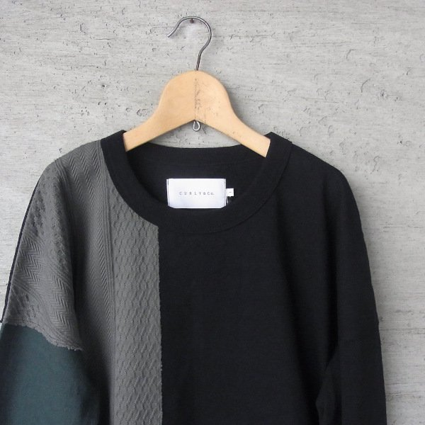 CURLY | ADDINGTON LS CN TEE(OLIVE/GREEN)